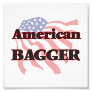 Bagger americano fotografía