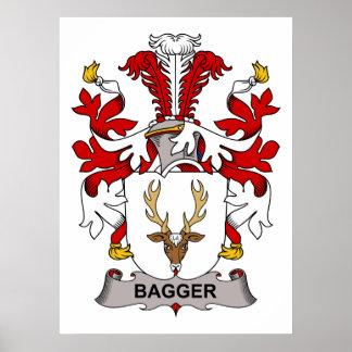 Bagger Family Crest Poster