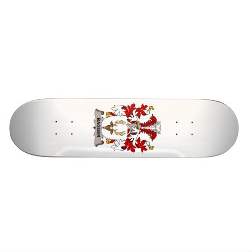Bagger Family Crest Skate Board Deck