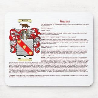 Bagger (significado) tapetes de raton
