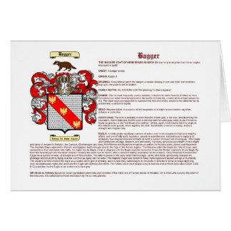 Bagger (significado) tarjeta