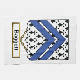 Baggett Family Crest Hand Towel