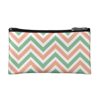 Baggette - Baby or Personal Items - Chevron Design Makeup Bag