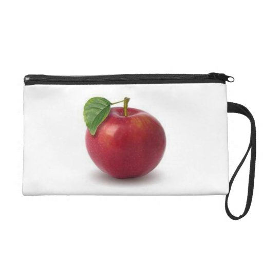 Baggettes Wristlet, Yummy Red Apple