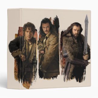 BAGGINS™, BARD THE BOWMAN™, & THORIN OAKENSHIELD™ BINDER
