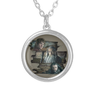 BAGGINS™, Gandalf, THORIN OAKENSHIELD™ Round Pendant Necklace