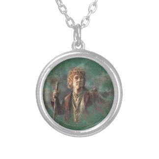 BAGGINS™ Illustration Silver Plated Necklace