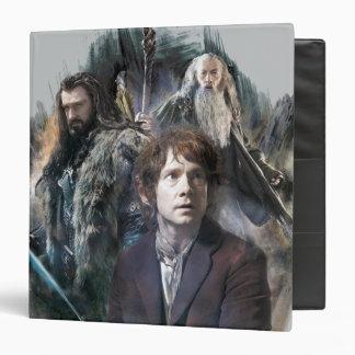 BAGGINS™, THORIN OAKENSHIELD™, & Gandalf 3 Ring Binder