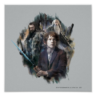 BAGGINS™, THORIN OAKENSHIELD™, & Gandalf Poster