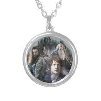 BAGGINS™, THORIN OAKENSHIELD™, & Gandalf Round Pendant Necklace