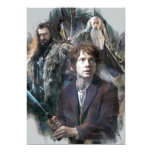 """BAGGINS™, THORIN OAKENSHIELD™, y Gandalf Invitación 5"""" X 7"""""""