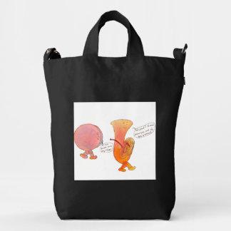 BAGGU bag with drum and tuba