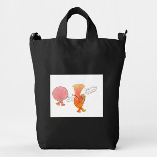 BAggu black bag with cartoon