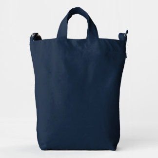 BAGGU Duck Bag, Indigo Duck Canvas Bag