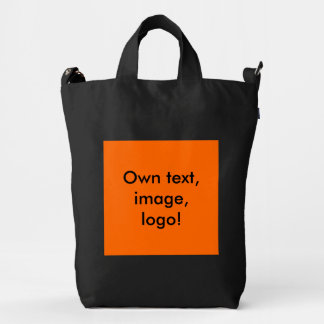 Baggu Duck Bag uni Orange Duck Canvas Bag