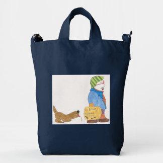 BAGGU Duck Bag, with cartoon Duck Bag