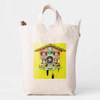 BAGGU recicló la mochila urbana del reloj de cuco Bolsa De Lona Duck