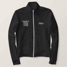 Baggy & Saggy Swag Embroidered Jacket