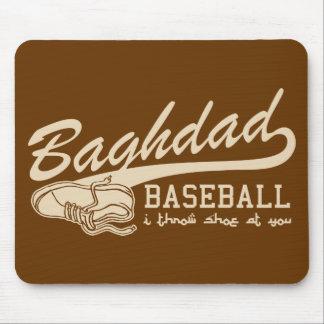 baghdad baseball - i throw shoe at you mouse pad