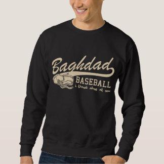 baghdad baseball - i throw shoe at you sweatshirt