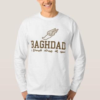 Baghdad - i throw shoe at you! t shirt