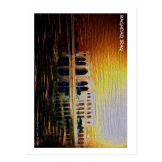 baghdad iraq postcard