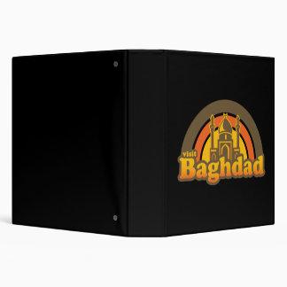 Baghdad Super Retro 3 Ring Binder