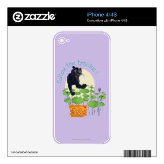 Bagheera 2 iPhone 4 skins