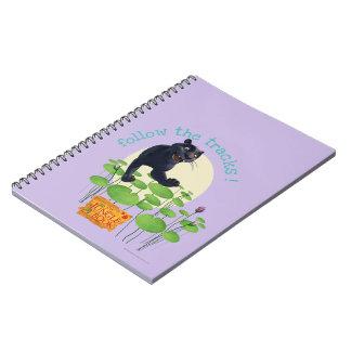 Bagheera 2 spiral notebook