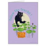 Bagheera 2 tarjeta de felicitación