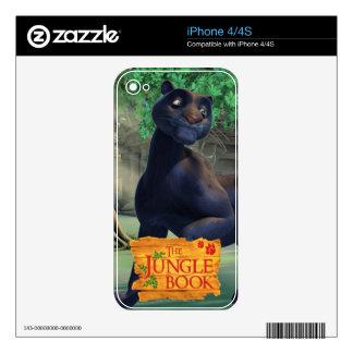 Bagheera 3 decals for iPhone 4S