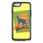 Bagheera con nombre y arte funda otterbox para iPhone 6/6s