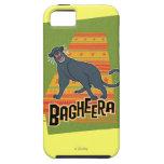 Bagheera con nombre y arte iPhone 5 carcasa