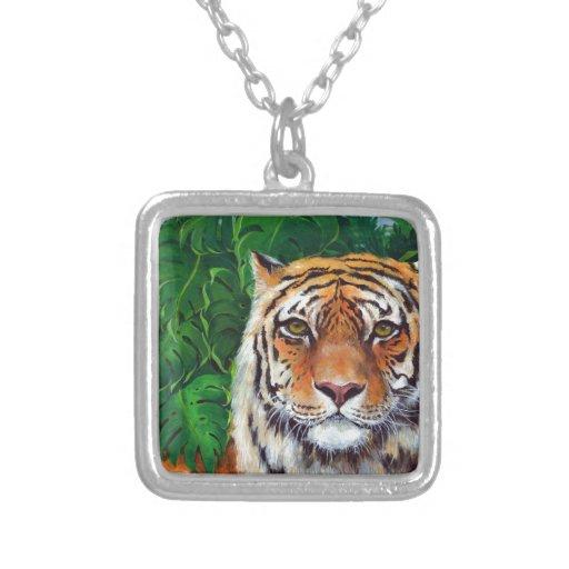 Bagheera el tigre collar personalizado