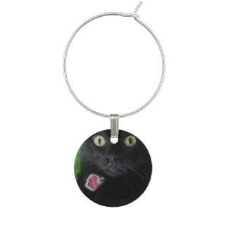 Bagheera los encantos del vino del gato negro identificadores de copas
