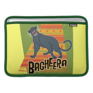 Bagheera With Name and Art MacBook Air Sleeves