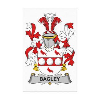 Bagley Family Crest Canvas Print
