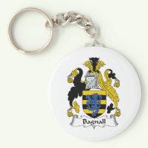 Bagnall Family Crest Keychain