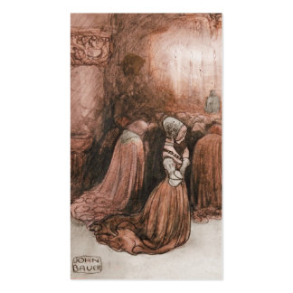 Bagneta and the Mermen Business Card