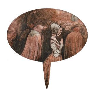 Bagneta y los Mermen Decoración Para Tarta