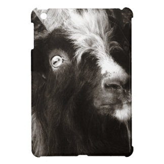 Bagot Goat Black and White Photograph Case For The iPad Mini