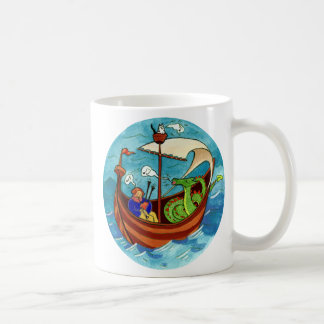 Bagpipe Boat Band mug