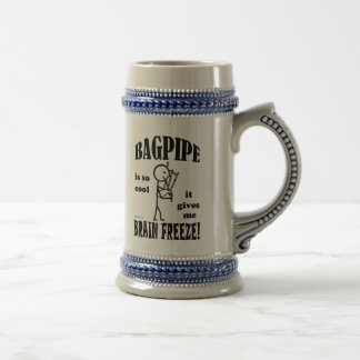 Bagpipe, Brain Freeze Beer Stein