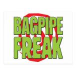 Bagpipe Freak G Post Card