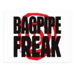 Bagpipe Freak Postcard