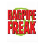 Bagpipe Freak R Postcard