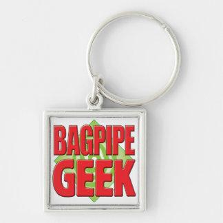Bagpipe Geek v2 Keychain