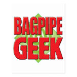 Bagpipe Geek v2 Post Card
