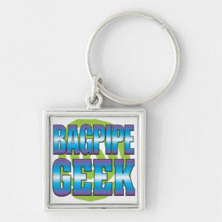 Bagpipe Geek v3 Keychain