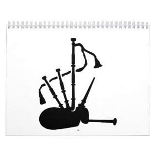Bagpipe instrument calendar